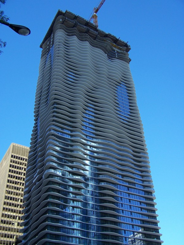 Unique structures - Aqua Tower USA