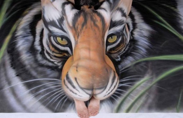 The Best Bodypainting Art Ever