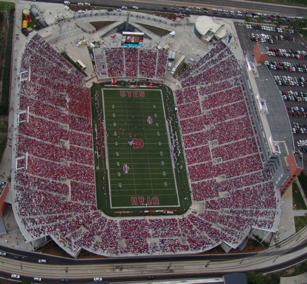 Largest Sports Stadiums - Salt Lake Stadium
