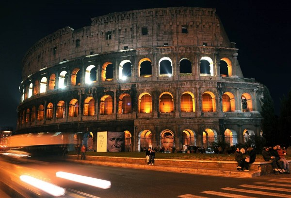 Attractions in Rome Colosseum
