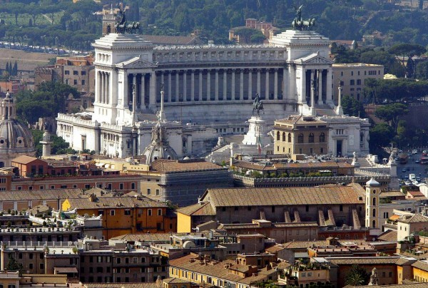 Attractions in Rome Rome from above