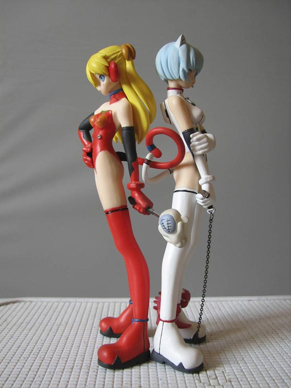 Erotic anime figures