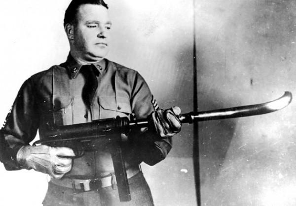 Stupidest Inventions Ever Gurved Barrel Machine Gun