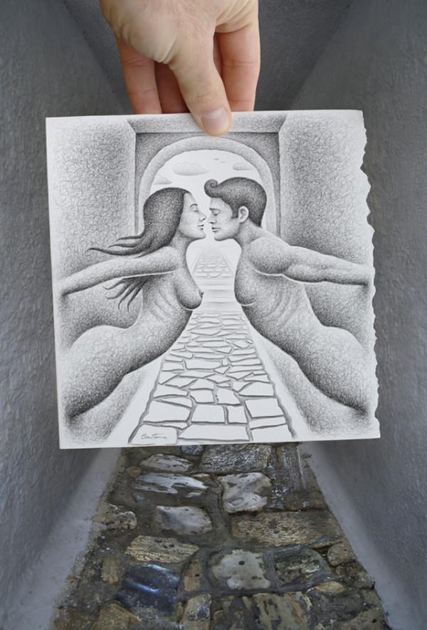 Amazingly Creative Drawing Vs Photography