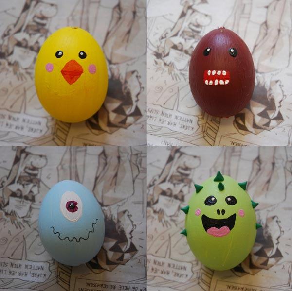 Funny Egg Art