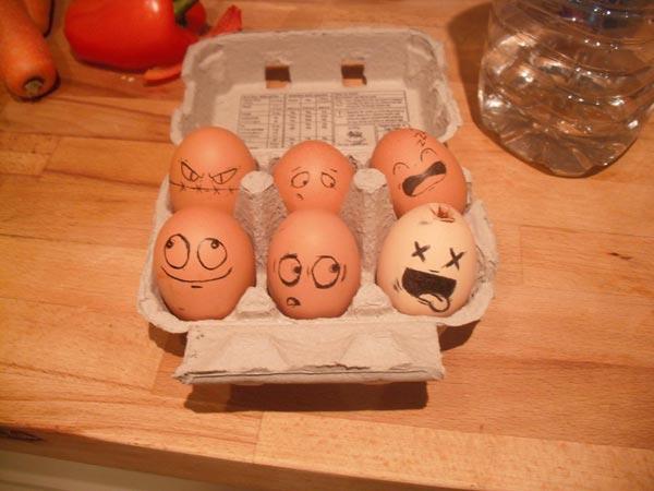 Amazing and Funny Egg Art