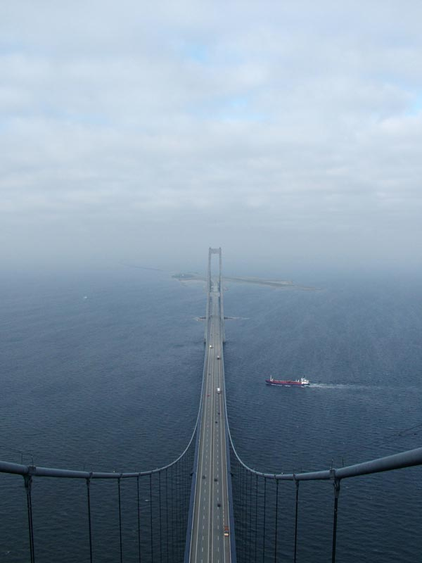 Single Span Bridges Xihoumen Bridge Great-Belt-Bridge