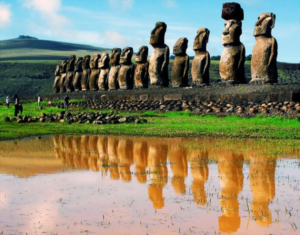 CORRECTION Chile New 7 Wonders of the World