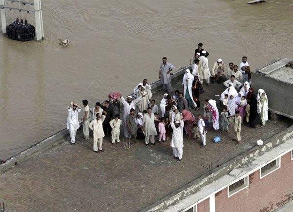 Most Pathetic Picture Collection From Pakistan Flood Disaster