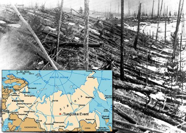 The Tunguska Explosion of Russia