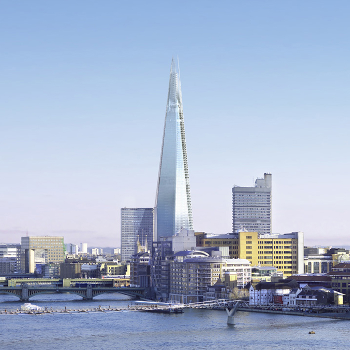 Get the Latest and Loftiest Bird's Eye View of London from The Shard