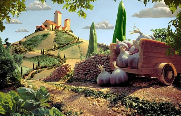 Carl Warner Foodscapes 11 600x387 - Stunning Foodscapes Art....