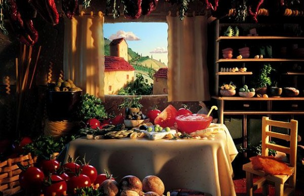 Carl Warner Foodscapes 12 600x387 - Stunning Foodscapes Art....