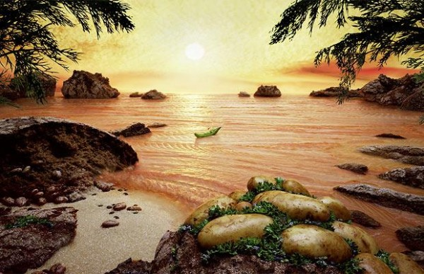 Carl Warner Foodscapes 3 600x387 - Stunning Foodscapes Art....