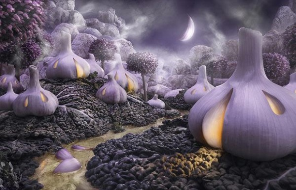 Carl Warner Foodscapes 6 600x387 - Stunning Foodscapes Art....