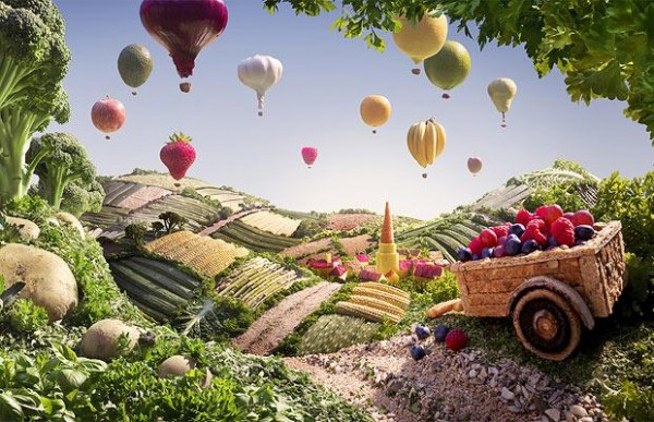 Carl Warner Foodscapes 7 600x387 - Stunning Foodscapes Art....