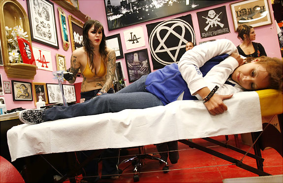 24-hour Guinness World Tattoo Record
