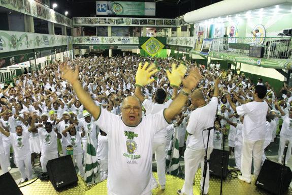 The largest samba dance