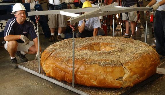 biggest bagel ever