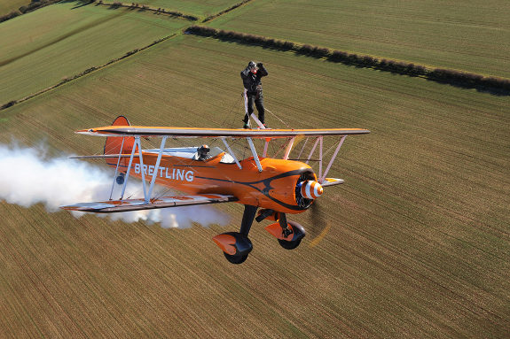 Oldest wing walker