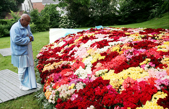 the world's largest bouquet