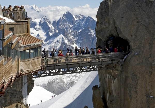 Aiguille du Midi Bridge, France