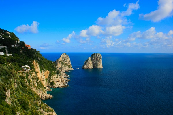 most romantic islands - Capri, Italy