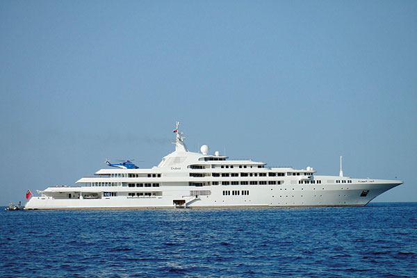 Dubai Dubai Yacht is the biggest and the most luxury Yacht ever