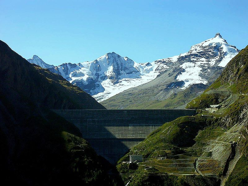 Grande Dixence Dam - Top 10 Tallest Dams in the World