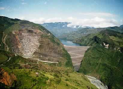 Guavio - Top 10 Tallest Dams in the World
