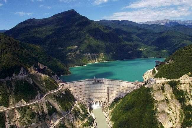 Inguri Dam - Top 10 Tallest Dams in the World
