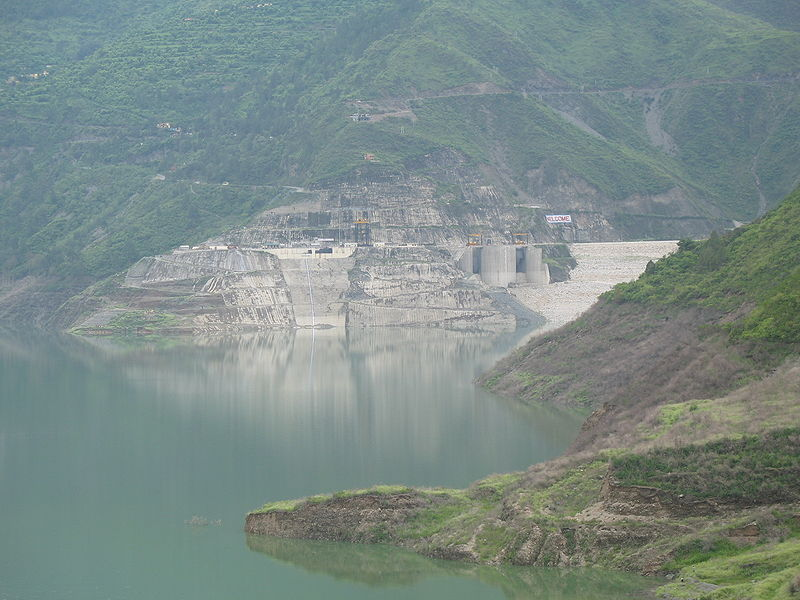 Tehri Dam - Top 10 Tallest Dams in the World