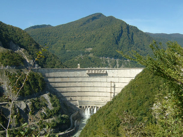 Vajont Dam - Top 10 Tallest Dams in the World