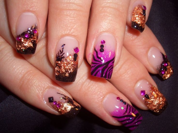 25 coolest nail art designs posts prinsesfo Images