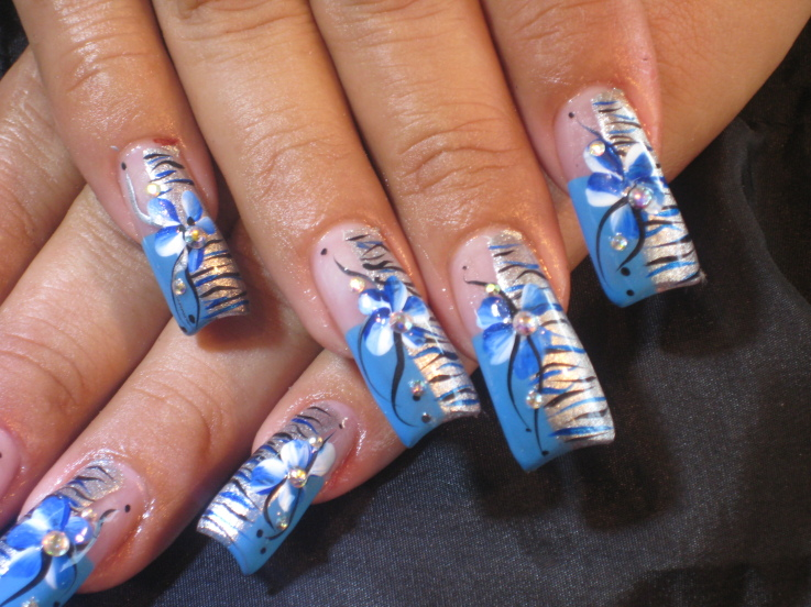 25 coolest nail art designs posts prinsesfo Gallery
