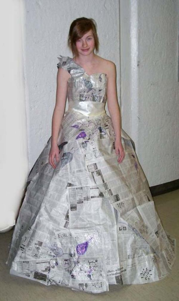 Strange prom Dress