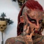 Disturbing Photos from Colombia Tattoo Convention