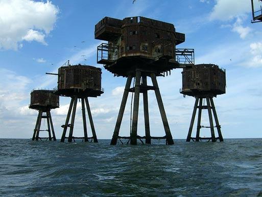 Maunsell Sea Forts, UK