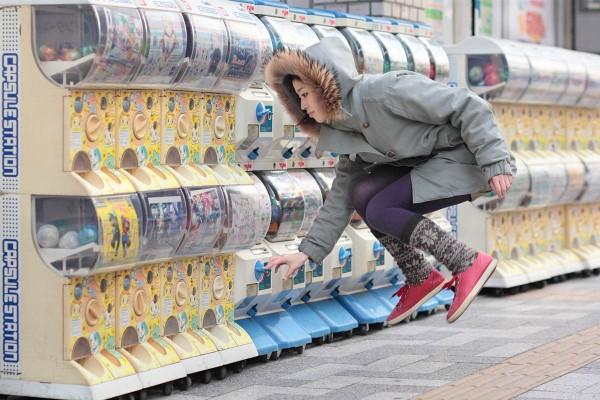 Levitation Photography Mid-air crunch