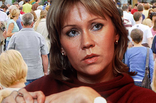 Agnetha Faltskog from ABBA has a few phobias.Heights, flying, open spaces and crowds.