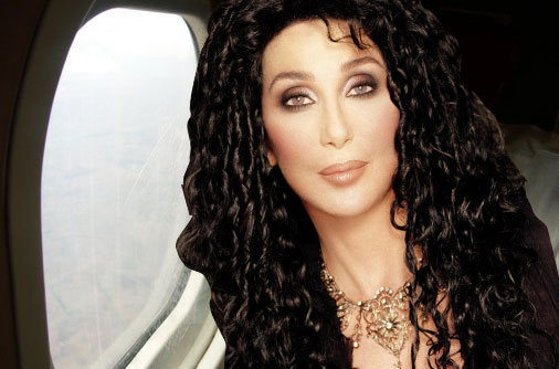 Cher can't stand to fly either.
