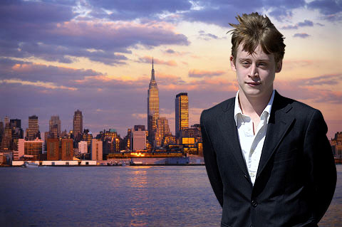 Macaulay Culkin hates leaving his New York apartment - he's agoraphobic.