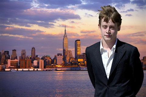 Macaulay Culkin hates leaving his New York apartment - he's agoraphobic.