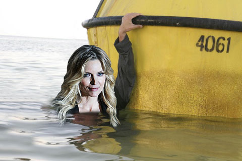 Michelle Pfeiffer suffers from hydrophobia - the fear of water. She did a good job to hold her nerve in What Lies Beneath.