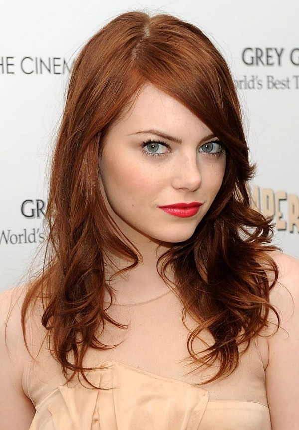 Redhead photos of Emma Stone