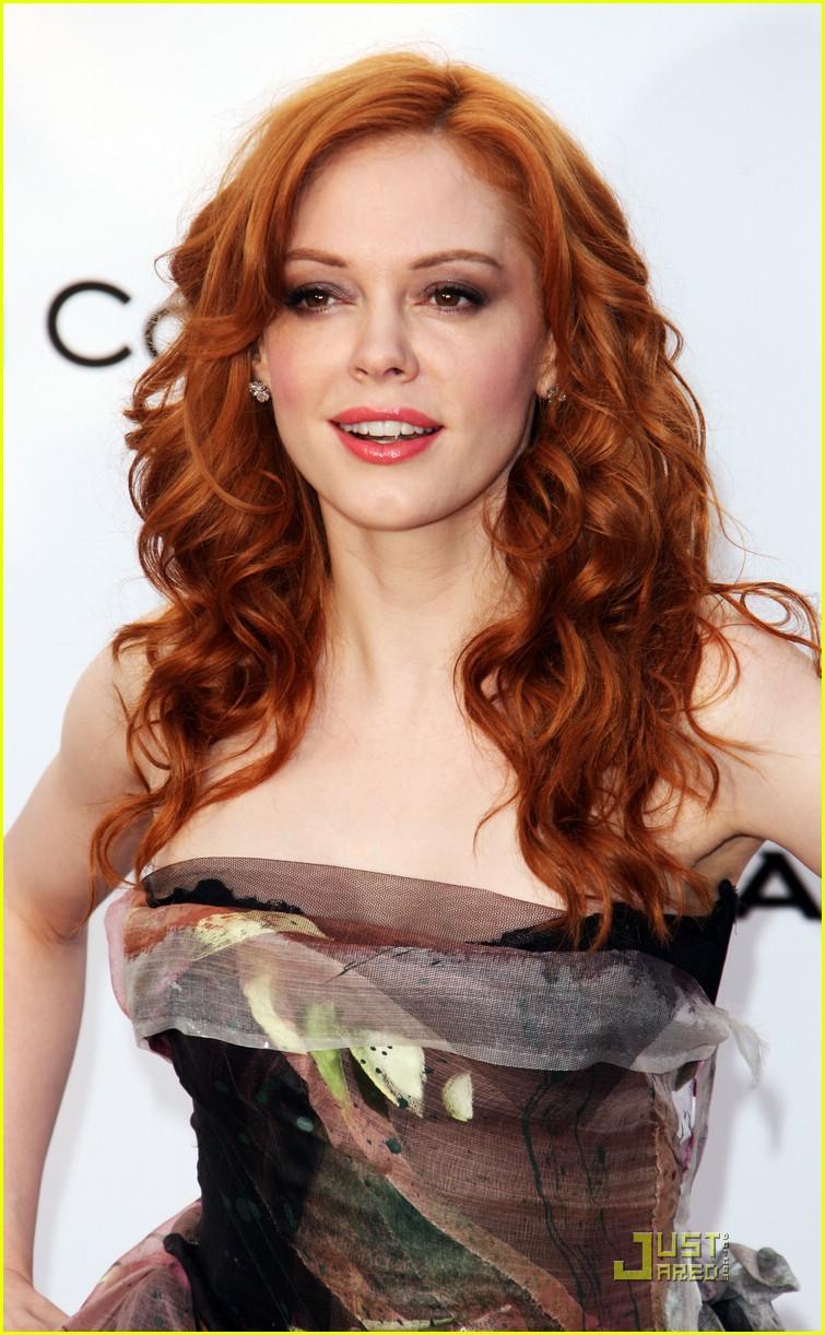 Rose McGowan Redhead
