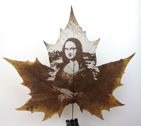 Beautiful Art Leaf Carrving 13