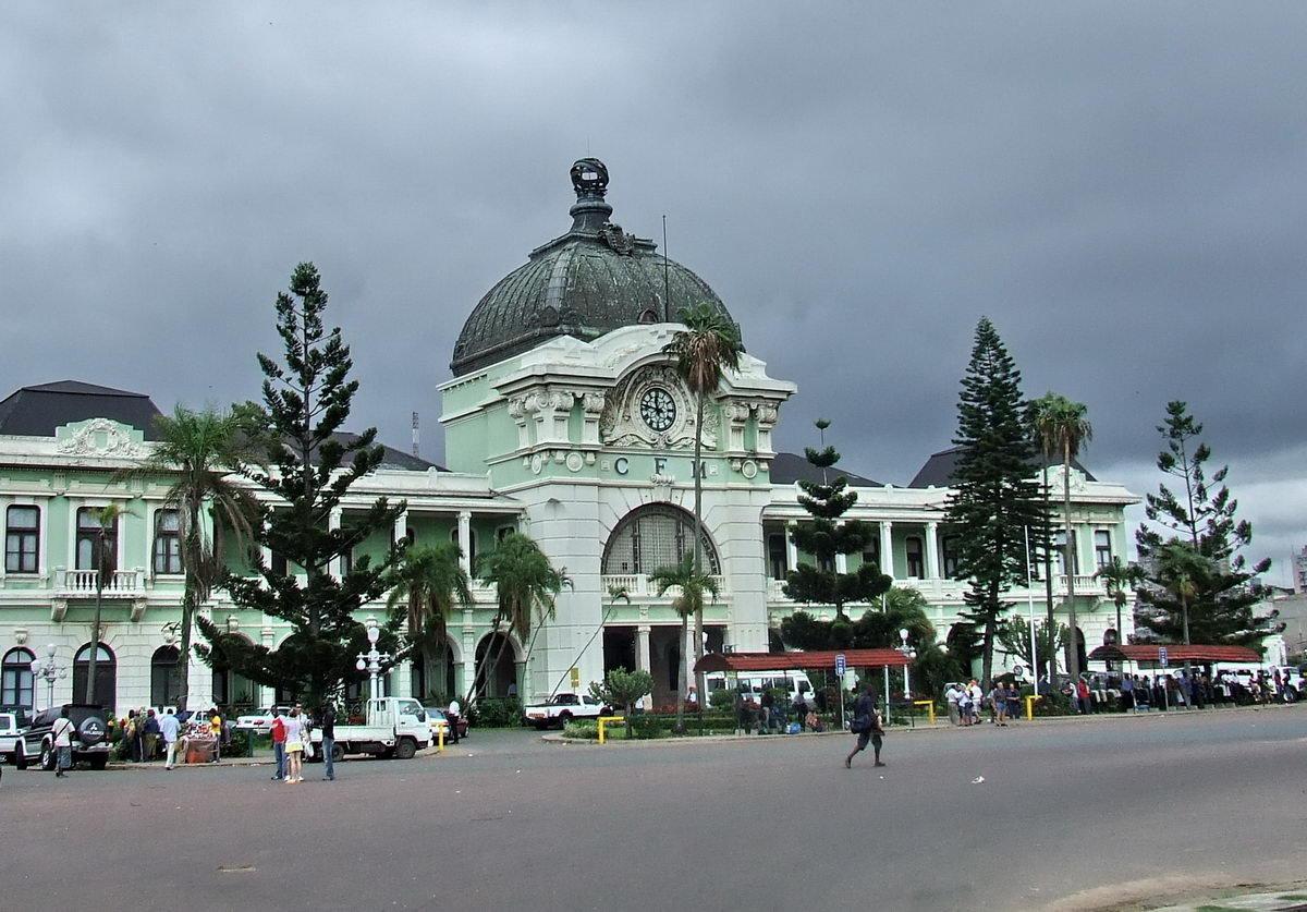 Maputo Mozambique  city photos : CFM Railway Station, Maputo, Mozambique