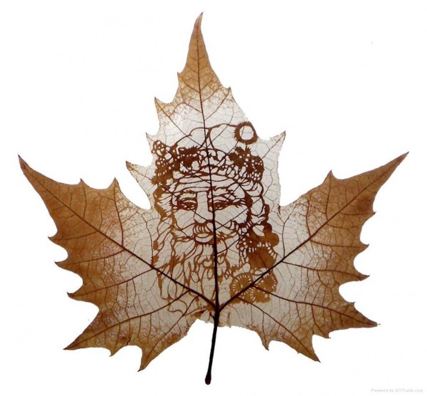 Leaf Carving Artwork 18