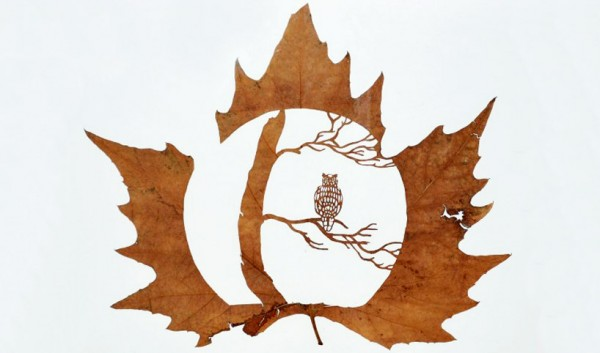 Leaf Carving Artwork 21